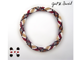 Scottish Plaid Bead Crochet Bracelet | eBooks | Arts and Crafts