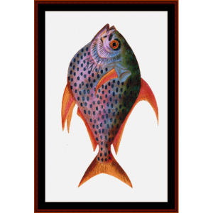 Kingfish - Wildlife cross stitch pattern by Cross Stitch Collectibles | Crafting | Cross-Stitch | Wall Hangings