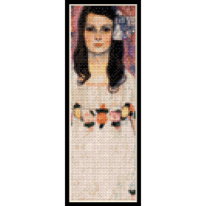 Mada Primavesi Bookmark - Klimt cross stitch pattern by Cross Stitch Collectibles | Crafting | Cross-Stitch | Other