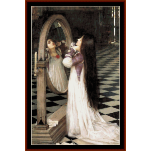 Marianna in the South - Waterhouse cross stitch pattern by Cross Stitch Collectibles | Crafting | Cross-Stitch | Wall Hangings