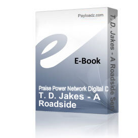 T. D. Jakes - A Roadside Service | Audio Books | Religion and Spirituality