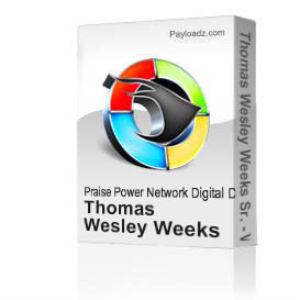 thomas wesley weeks sr. - what's love got to do with it - video