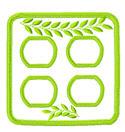 green leaf kitchen set 1
