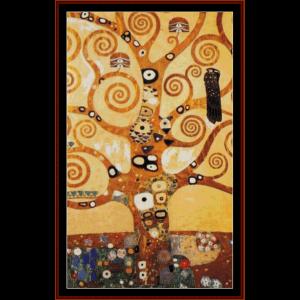 Tree of Life II - Klimt cross stitch pattern by Cross Stitch Collectibles | Crafting | Cross-Stitch | Wall Hangings