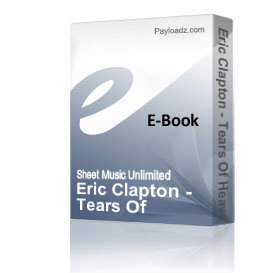 eric clapton - tears of heaven (piano sheet music)