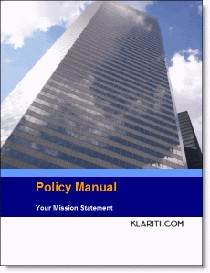 policy manual template