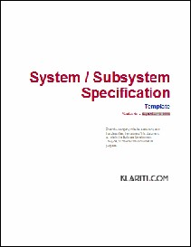 system specification template