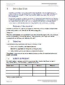 Verification and Validation Plan Template | Other Files | Documents and Forms