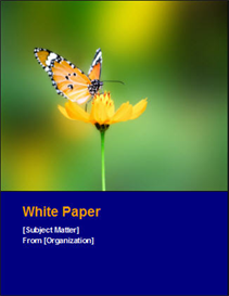 15 white paper templates (ms word)