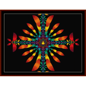 Fractal 126 cross stitch pattern by Cross Stitch Collectibles | Crafting | Cross-Stitch | Other