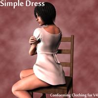 simple dress v4