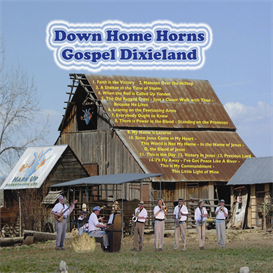 down home horns volume 1 gospel dixieland cd
