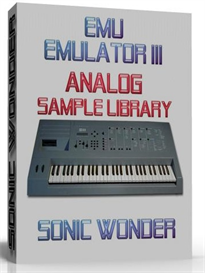 emu emulator iii  analog  - sample library -