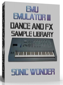 emu emulator iii dance  sfx  -  sample library -