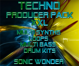 techno producer pack xxl   - wave samples -