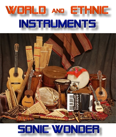 world and ethnic instruments    - wave samples -