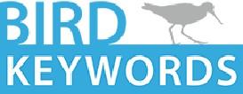 birds of north america keywords