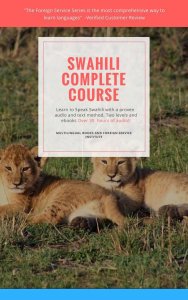 swahili language course