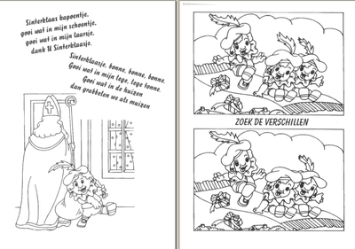 First Additional product image for - Sinterklaas Game Book for Children