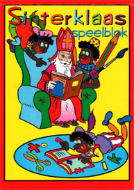 sinterklaas game book for children