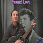 learn to play young love by sonny james