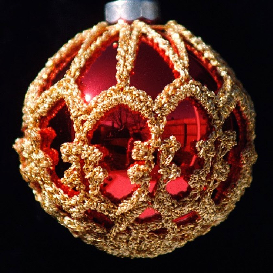 Crochet Christmas Ornament Cover | Crafting | Crochet | Christmas