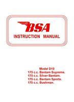 bsa bantam manual bsa bantam manual 175 cc d10