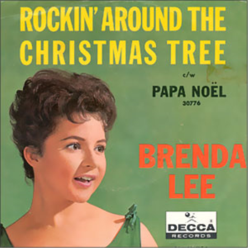 Second Additional product image for - Rocking Around the Christmas Tree as sung by Leann Rimes with a Big Ba