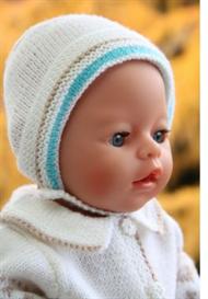 dollknittingpattern 0034d lina - babysuit-hat-socks