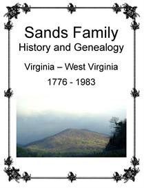 Sands Family History and Genealogy | eBooks | History