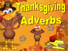 Thanksgiving Adverbs | Other Files | Documents and Forms