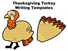 turkey creative writing set