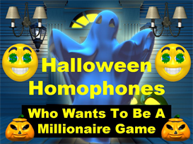 halloween homophones powerpoint