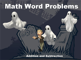 halloween math word problems powerpoint