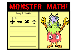 monster math where the wild things are