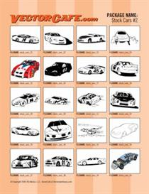 Stock Car Vector Clip Art #2 | Other Files | Clip Art
