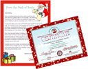 Printable Letter from Santa and Nice List Certificate | Other Files | Patterns and Templates