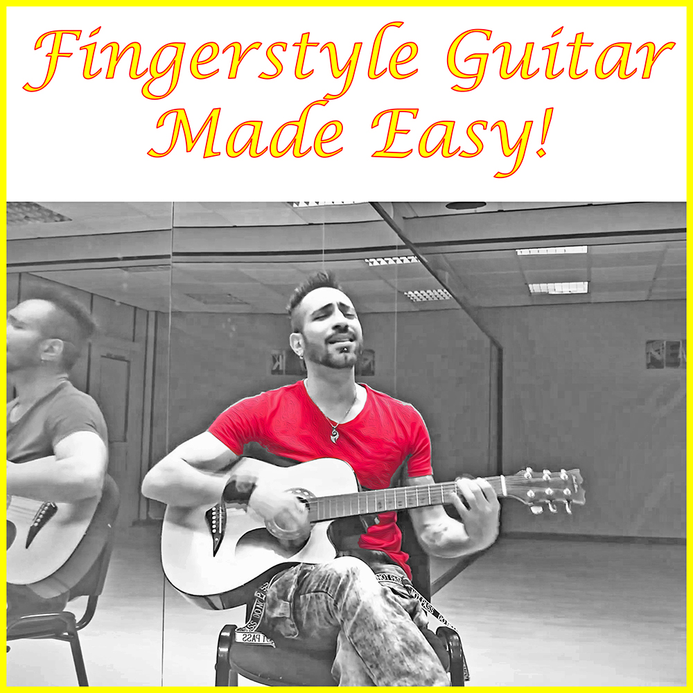 Second Additional product image for - Fingerstyle Guitar Made Easy!
