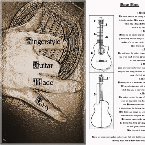 First Additional product image for - Fingerstyle Guitar Made Easy! *40% OFF*