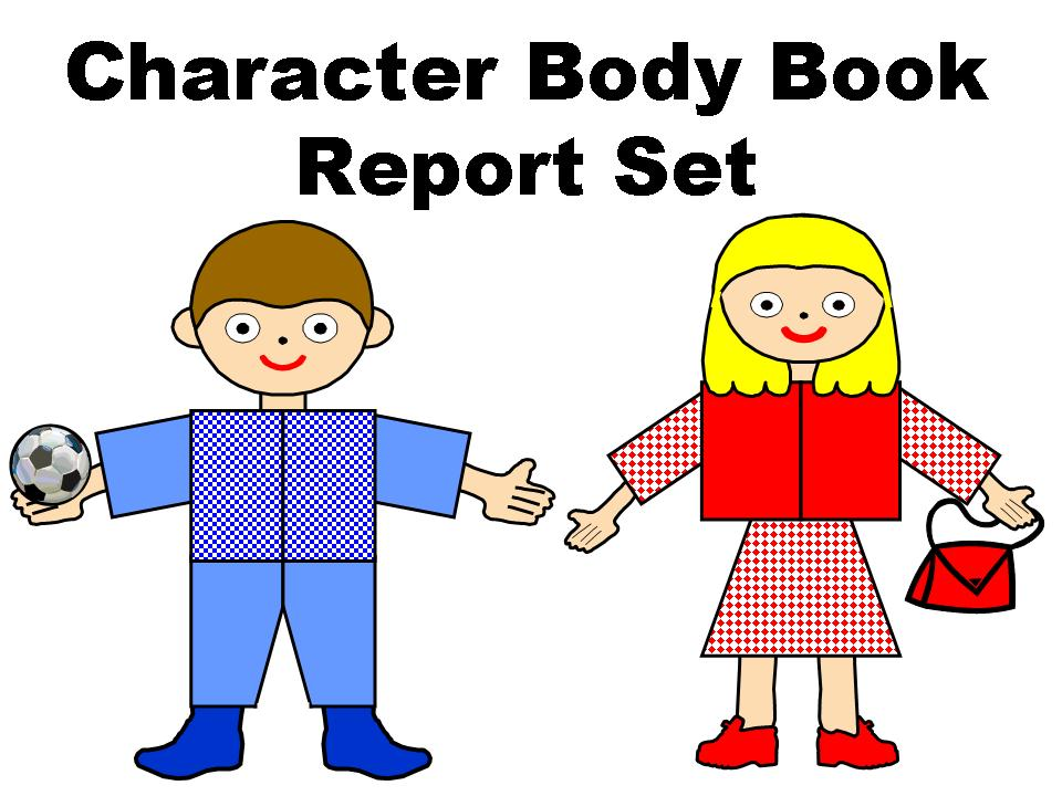 character body book report project other files documents and forms