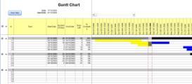 gantt chart excel 2007 xls spreadsheet