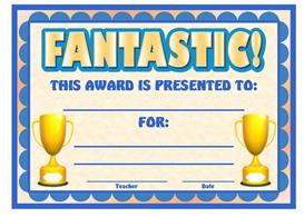 fantastic award