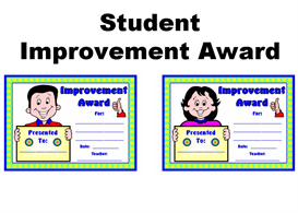 student improvement award