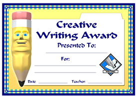 creative writing award