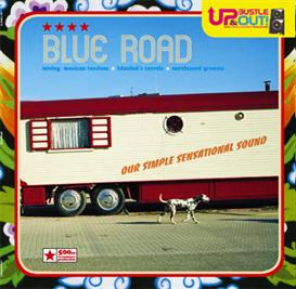 up bustle and out - blue road - download