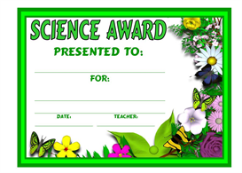 science plant award