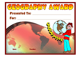 geography student award