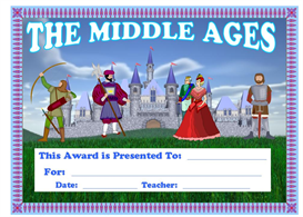 middle ages award