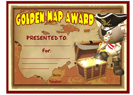 golden map award
