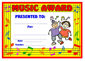 music children award